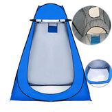 Outdoor Camping Portable Privacy Shower Toilet Tent With Window Foldable UV Proof Bath Dressing Tent Photography Tent