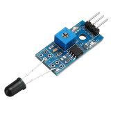 LM393 3 Pinos IR Detecção de Chama Sensor Módulo Detector de Incêndio Módulo Receptor infravermelho