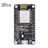 2 piezas Geekcreit V2 ESP8266 placa de desarrollo o IOT NodeMcu ESP12E Lua L293D