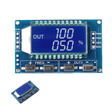 5pcs 1Hz-150Khz 3.3V-30V Signal Generator PWM Pulse Frequency Duty Cycle Adjustable Module LCD Display Board