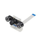 Nachtsicht-Kameramodul + Lampe mit Acrylhalterung mit Kühlkörper für Raspberry Pi