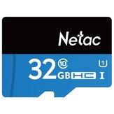 Netac P500 32GB UHS-I U1 Cartão TF Cartão SDHC Micro SD para Celular