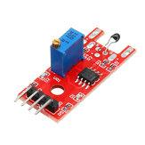KY-028 Módulo termostato digital de temperatura Sensor de termistor de 4 pinos KY-028 Geekcreit para Arduino - produtos que funcionam com placas Arduino oficiais