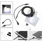6 LED 7mm Lens IP67 USB Android Borescope Waterproof Tube Snake Camera for Android Phone and PC