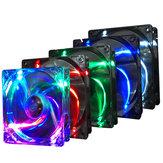 Pccooler F1210 3 Pin 12CM colori multipli LED Computer Cooler Fan Cooling Fan Case