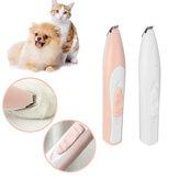 USB Wiederaufladbarer elektrischer Nagelschneider für Haustiere Nagelschleifer Katzen- und Hundepflegewerkzeug Elektrischer Scherschneider