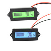 LCD Lithium Iron Phosphate Battery LiFePO4 Acid Lead Lithium Battery Capacity Indicator Digital Voltmeter Tester 12V