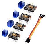 BIGTREETECH TMC2225 Stepper motor Driver UART StepStick Mute para SKR V1.3 mini E3 Piezas de impresora 3D