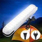 Emergência portátil 42 LED Luzes de trabalho Bateria de acampamento ao ar livre pendurada para economia de energia AC110-220V