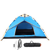 3-4 People Fully Automatic Camping Tent Water Resistant Folding Outdoors Hiking Travel