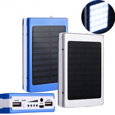 Bakeey 5x18650 Dual USB Solar Energy Camping lommelygte 20000mAh batterikasse Power Bank Box