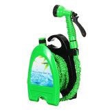 Sprinklerschlauch um das Rohrgestell Schlauchgestell Garden Garden Autowaschanlage Teleskop Latex Schlauchaufbewahrungsset