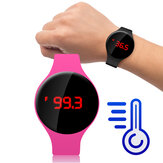 Bakeey MT08 Fahrenheit Monitor de temperatura corporal Centígrado Termômetro Fashion Smart Watch