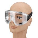 Şeffaf Lens Gözlükler Göz Koruyucu Güvenlik Gözlükler Anti-Fog Antisand Dust
