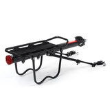 BIKIGHT 50KG alumínium ötvözetű kerékpártartó kerékpáros teherállványos kerékpárülés hátsó állványtartó tartó kültéri kerékpározás