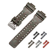 Bakeey H Type Camouflage Watch Band for Casio GA-110/100/120 / GD-120/110