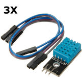 3Pcs KY-015 DHT11 Temperature Humidity Sensor Module