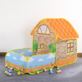 Portable Kids Children Play Tent House Up Tents Beach Pool Tent for Courtyard Garden Playing Crawling Folding Tent Toy