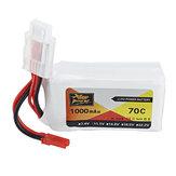 ZOP Power 11.1V 1000mAh 70C Lipo Batterie JST Plug