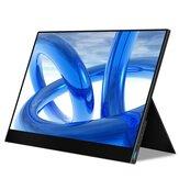 WEICHENSI DQ30 1080P 17.3 İnç 144Hz Type C Taşınabilir Bilgisayar Monitör Oyun Ekran Ekran Akıllı Telefon Tablet Dizüstü Oyun Konsolları için