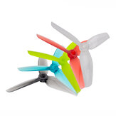2 أزواج Gemfan WinDancer 4032 4x3.2x3 3-blade 4 بوصة Propeller الكمبيوتر CW CCW for RC Drone FPV Racing