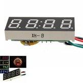 DC 7-30V Digitale LED-klok voor auto vrachtwagen motor motor 24 uur tijd