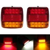 12v camion rimorchio 20 LED fanale posteriore girare numero freno lampada luce targa di segnale