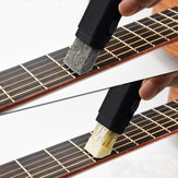 Dual Purpose Guitar Bass String Finger Board Cleaner Rust Cleaning Tool
