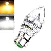 e27 e14 e12 b22 6w LED luz de velas lustre bulbo 85-265V