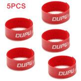 5 PCS 16cm DUPU Li-Poバッテリー固定マジックテープストラップ(RCモデル用)