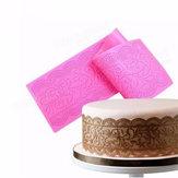 Fiore silicone della torta del merletto Mats muffa della torta del fondente che decora gli attrezzi da sposa goffratura Mould