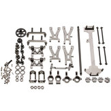 WLtoys 1/18 A949 A959 A969 A979 K929 Upgraded Metal RC Car Parts Kit Color Gray