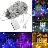 AC110V 20M 200LED Impermeable Fairy String Light Christmas al aire libre Boda Fiesta Lámpara US Enchufe