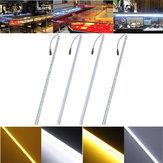 7.2W 50cm dc12v 7020 36smd LED cáscara de la aleación de aluminio bajo la luz de tira del gabinete