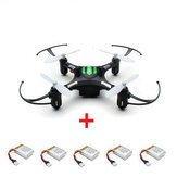 Eachine H8 Mini Headless Mode RC Drone Quadcopter with 5pcs 3.7V 150mAh Battery