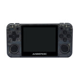 ANBERNIC RG350P 16GB Console de videogame com 6000 jogos com cartão de memória 32GB 3,5 polegadas IPS HD Tela temperada olofóbica 64 bits DDR2 512M Retro Handheld Video Game Player para PS1 GBA SFC MD