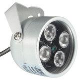 HOBOVISIN CCTV 4 Array IR LED Işıklandırıcı Işık CCTV IR Gözetleme Camer için Kızılötesi Gece Görüşü