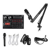 Dimesi Live R8 Sound Card Set BM800 Microphone Recording Microphone for Sing Song Artifact