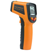 MT380 Laser Digital Infrared Non-contact -50~400℃ Thermometer Temperature Tester ℃/℉