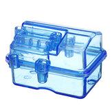 مصغرة ضد للماء البلاستيك الشفاف صندوق الاستقبال P2047 ل 1/10 RC قصير دورة مائل HQ727