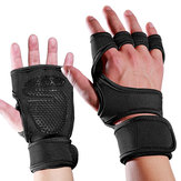 Mumian 1 Pair Sports Palm Half-finger Gloves Man Woman Wrist Guards Antiskid Fitness Sports Gloves Hand Support