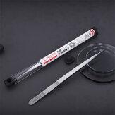 QianLi Precision Flying Fio Pinça Preservativo não magnético em aço inoxidável Ultra Sharp Apontado Solda Pinça