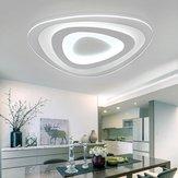 16W moderna Ultrathin LED luz de techo montada al ras 3 colores ajustables para la sala de estar