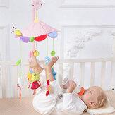 Babybedje Mobiele muzikale bedbel met controller Muziek Nachtlampje Pasgeboren speelgoed