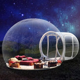 3.5m Inflatable Tent Tunnel Bubble Eco Home Tent Transparent House Luxury Dome