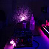 Tesla Music Coil Ferramentas de Ciência e Educação Artificial Lightning Faça você mesmo experimento com casca de acrílico