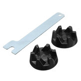 2stk Blender Gummi Coupler Gear Koppling med Removal Tool för KitchenAid 9704230