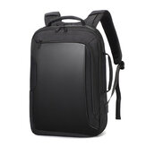 Business Backpack Laptop Computer Bag Schoolbag Shoulders Storage Bag Waterproof with USB Headset Interface