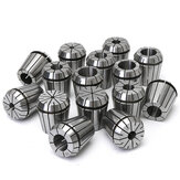 15Pcs 1/8 to 1 Inch ER40 Spring Collet Set for CNC Milling Lathe Tool