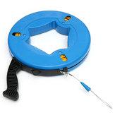 45m / 60m / 70m Kabel z włókna szklanego Ściągacz Fish Tape Reel Przewód rurowy Puller Puller